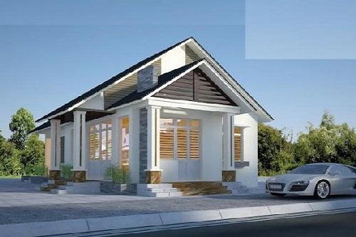 Đẹp mê ly với 8 mẫu thiết kế nhà với giá chỉ 200 triệu