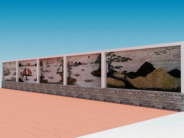 Một số mẫu thiết kế tranh đá ốp tường đẹp