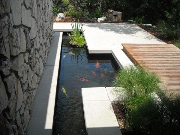 Hệ thống lọc nước hồ cá koi ngoài trời
