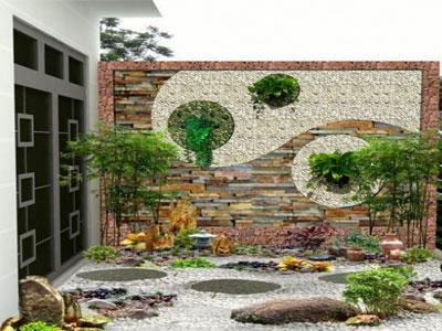 Thi công tranh đá ốp tường