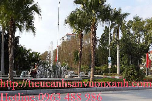 Đài phun nước khu đô thị An Khánh