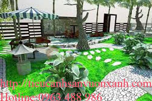 Mẫu sân vườn biệt thự 04
